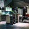 cucina industrial, cucina urban style