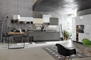 cucine moderne ; arredamento roma ; paoletti industria mobili