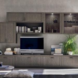 parete tv minimalista
