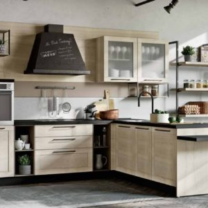 cucina industrial; cucina vintage