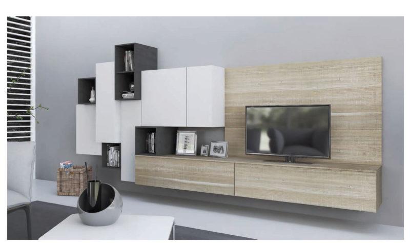 soggiorno moderno wall