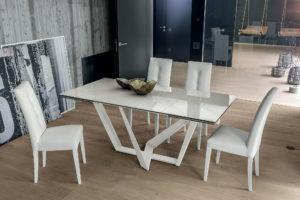 tavolo moderno gres carrara