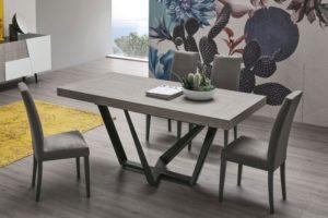 Novità 2019: Tavolo DAKOTA 160 finitura legno