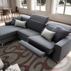 divano recliner elettrico